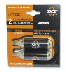 Pack Cartuchos De Aire Comprimido SKS Airgun 16 gr (2 unidades)
