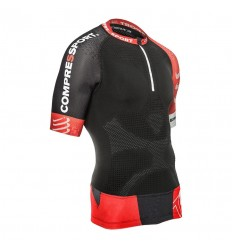Camiseta Compressport Trail Running Shirt V2 SS Negro