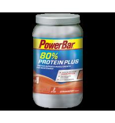 Bebida Proteica Powerbar Protein Plus 80 % 700 Strawber sabor Fresa bote 700 gr.