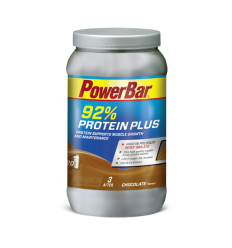 Bebida Proteica Powerbar Protein Plus 92 % 600 Chocolate sabor Chocolate bote 60