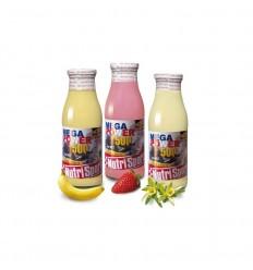 Batido Energético Nutrisport Megapower drink sabor vainilla 12 u.