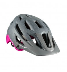 Casco Bontrager Mujer Rally Mips Gris/Vice Pink