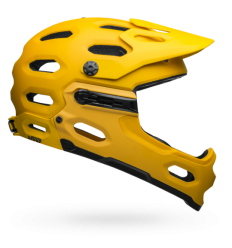 Casco Bell Super 3R Mips Amarillo Mate