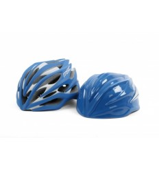 Casco Road Msc Pro Inmold Azul/Blanco