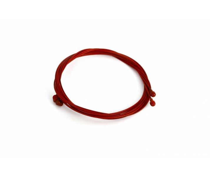Cable Freno Teflonado 1.800 MM Rojo 2 Uni