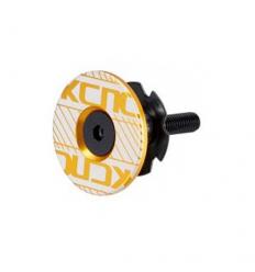 Tapa dirección KCNC Aheadset Cap Kit 2 1-1/8 con araña Dorado