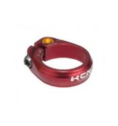 Cierre Tija Sillin KCNC SC-9 RD Clamp c.tor.Ti 31.6mm Rojo |KCABSC9174RJ|