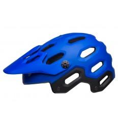 Casco Bell Super 3 Azul Mate/Azul Brillo