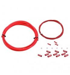 Cable Freno Carretera KCNC nano teflon 1.7m rojo |KCCABFCRJUN|