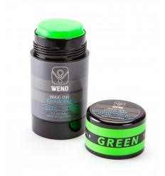 Roll-on de Cera WEND Wax-On color verde 80ml