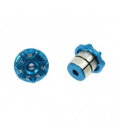 Topes Manillar MTB Plugs KCNC Azul  KCTOMATAZUN 