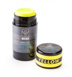 Roll-on de Cera WEND Wax-On color Amarillo 80ml