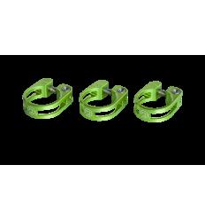 Abrazadera Pro Cierre tija Sillín preforada 31,8mm Verde