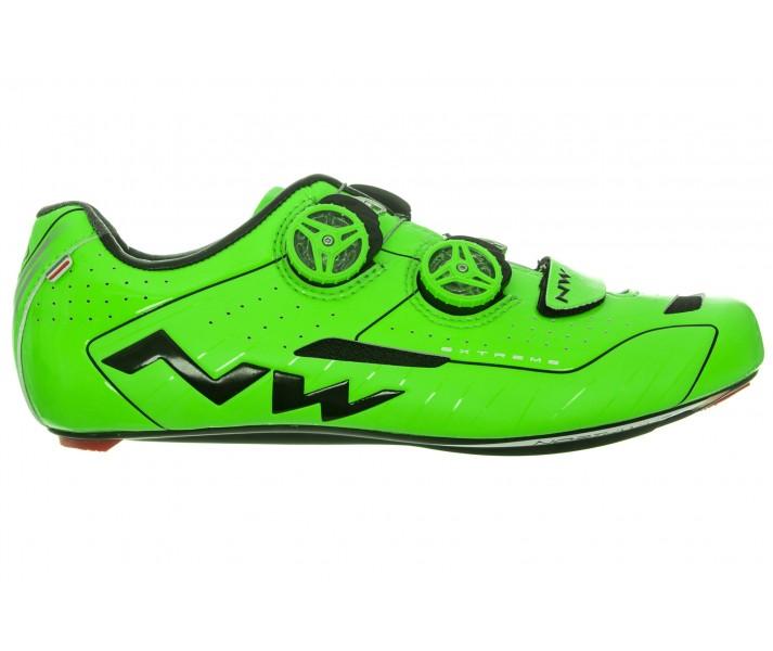 comprar genuino clásico muy elogiado Zapatillas Northwave Carretera Extreme Verde Fluor