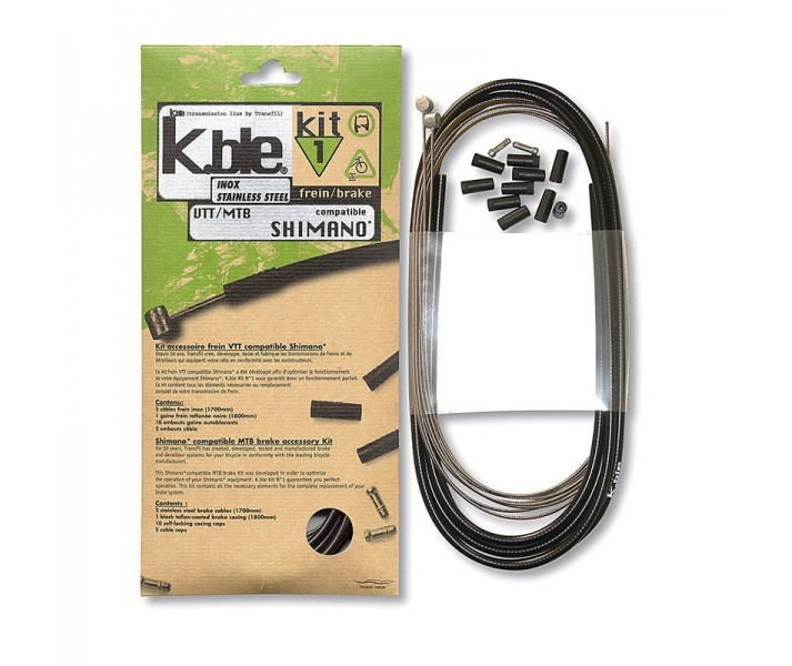 Kit Freno Transfil Inoxidable Mtb Compatible Shimano/Sram
