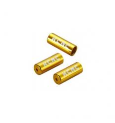 Tope de funda cambio KCNC 4mm 10uni Dorado