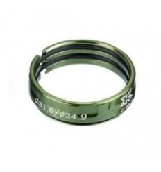 Anillo de Fricción KCNC SC-14 34.9/31.8mm Verde |KCABSC14173VD|