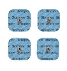 Electrodos Compex Performance EasySnap 5x5 bolsa 4 ud.