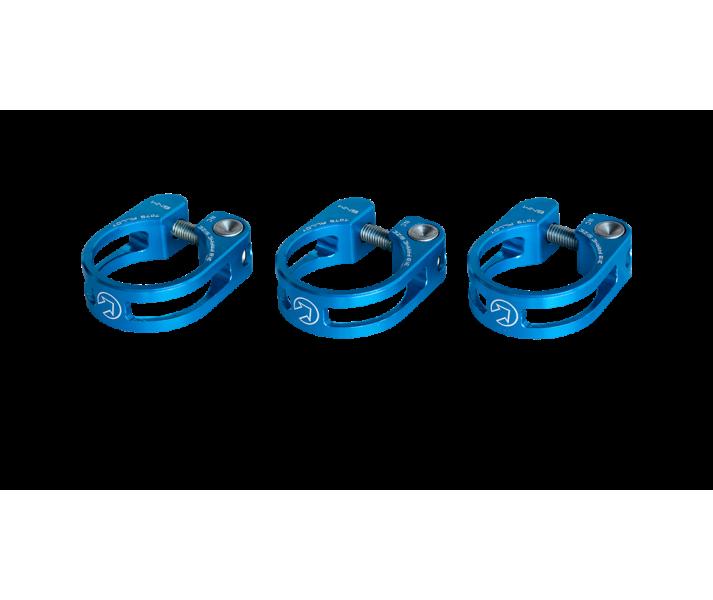 Abrazadera Pro Cierre tija Sill�n preforada 34,9mm Azul