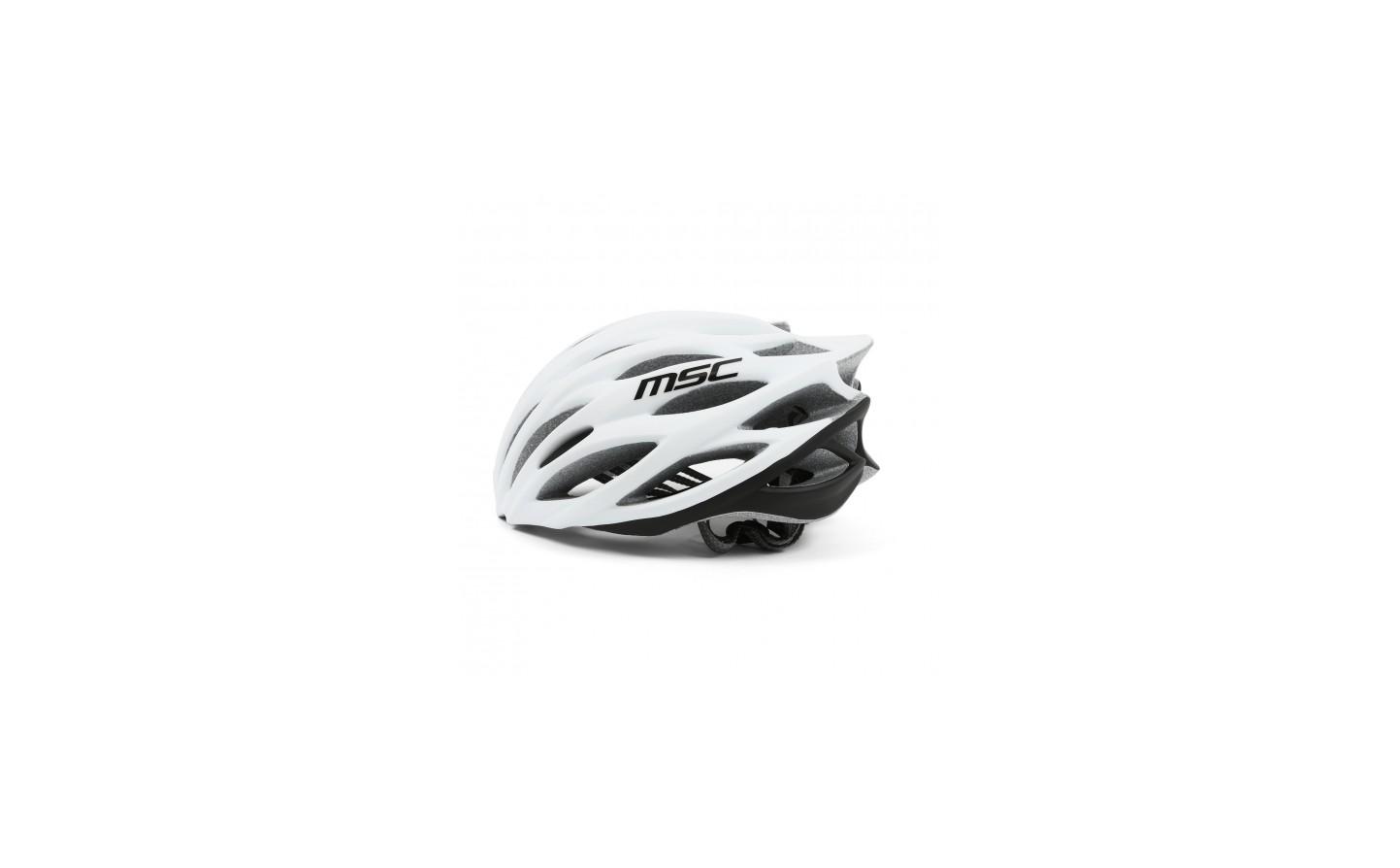 Talla S//M Casco MSC Bikes MSC Inmold Color Negro//Gris