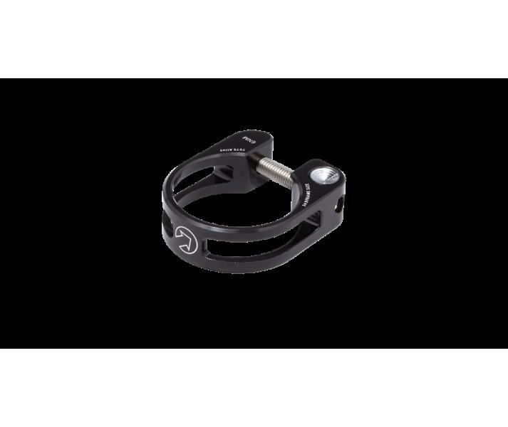 Abrazadera Pro Cierre tija Sill�n aluminio preforada 34,9mm Negro