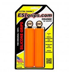 Puños MTB ESIGRIPS Extra Chunky Naranja   XLCOR