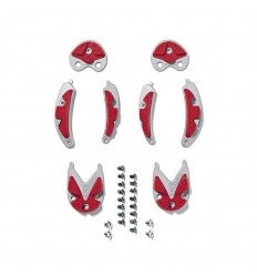 Inserts Sidi Mtb Dragon 2 Spider 012 - Gris/Rojo
