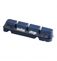 Kit 4 Zapatas Swissstop Flash Azul Aluminio