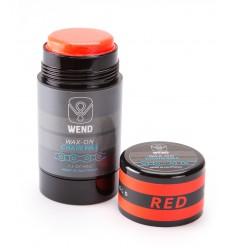 Roll-on de Cera WEND Wax-On color Rojo 80ml