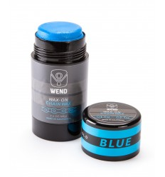 Roll-on de Cera WEND Wax-On color azul 80ml