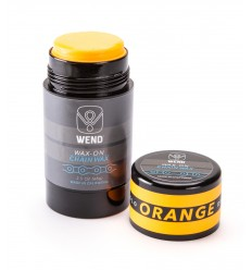 Roll-on de Cera WEND Wax-On color Naranja 80ml