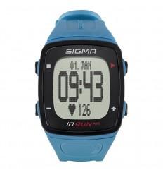 Pulsómetro + Gps + Podometro Sigma Id.Run Hr Azul