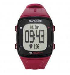 Pulsómetro + Gps + Podometro Sigma Id.Run Hr Rojo