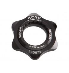 Adaptador Center Lock KCNC AL6061 Negro |KCCLADTNG1UN|