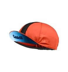 Gorra Castelli Performance 3 Naranja