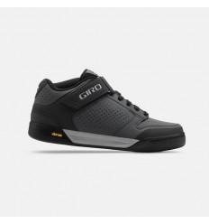 Zapatillas Giro Riddance Mid Negro/Negro