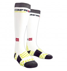 Calcetines Compressport Largos Blanco