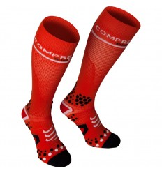 Calcetines Compressport FullSocks V2 Rojo