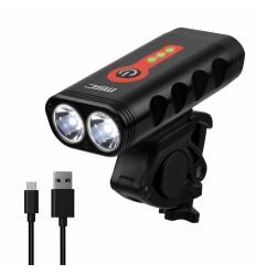 Luz delantera MSC 1000 Lumens con indicador de bateria