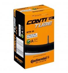 Cámara Continental MTB 26x1.75/2.30 Presta 60mm