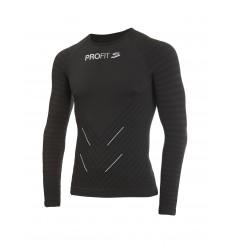 Camiseta Spiuk Profit Cold&Rain Negro