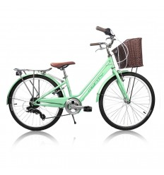 Bicicleta Monty City Little Swing 24' 7v 2020