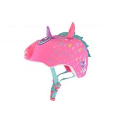 Casco Raskullz Infantil Unicornio 5+ Rosa