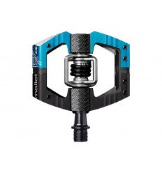 PEDALES AUTOMÁTICOS CRANK BROTHERS MALLET E LONG SPINDLE NEGRO/AZUL