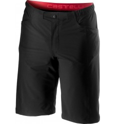 Short Castelli Unlimited Baggy Negro