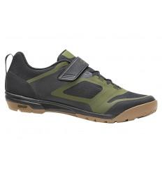 Zapatillas Giro Ventana Fastlace Negro/Verde
