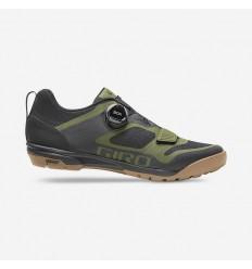 Zapatillas Giro Ventana Negro/Verde