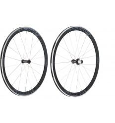 Juego de ruedas Vision Trimax T42 gris Shimano 11v