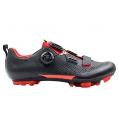 Zapatillas Fizik Terra X5 Negro/Rojo