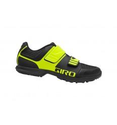 Zapatillas Giro Berm Negro/Amarillo